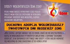 Boromeuszki z Trzebnicy duchowo adoptują wolontariuszy ŚDM