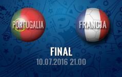 Mecz: Portugalia - Francja (Finał)