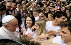Papież Franciszek - duszpasterz młodzieży