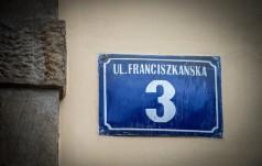 Papież Franciszek na Franciszkańskiej 3
