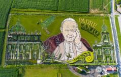 Żywy obraz Jana Pawła II w Inwałdzie