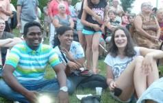 Młodzi pielgrzymi z Niemiec i Martyniki gościli w Blachowni
