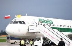 Włochy: zmiana właściciela Alitalia może wpłynąć na zmiany w podróżach papieża