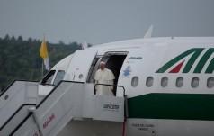 Franciszek przybył do Egiptu