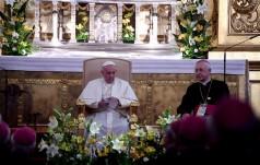 Spotkanie Franciszka z polskimi biskupami