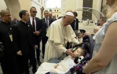 Papież spotkał się z chorymi