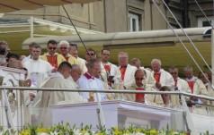 Franciszek na Jasnej Górze, Błoniach i w oknie papieskim