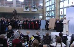 Przemówienie Papieża podczas wizyty w Uniwersyteckim Szpitalu Dziecięcym w Prokocimiu (nieautoryzowane)