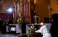 Papież w Łagiewnikach: