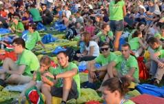 ŚDM: pielgrzymi zmęczeni, ale radośni docierają na Campus Misericordiae
