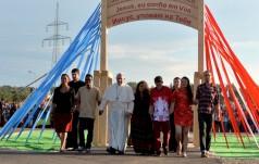 Czuwanie w Brzegach ukoronowaniem czwartego dnia wizyty Franciszka w Polsce