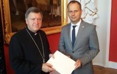 Abp Kupny podziękował wojewodzie za pomoc przy organizacji ŚDM