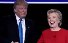 Ostra wymiana ciosów podczas pierwszej debaty Trump-Clinton!