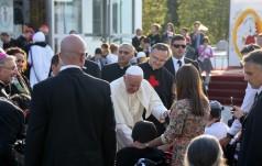 Gruzja: Papież Franciszek u ojców kamilianów