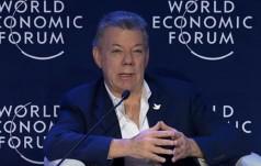 Prezydent Kolumbii z Pokojową Nagrodą Nobla