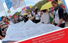 Marsz dla Życia ze św. Janem Pawłem II