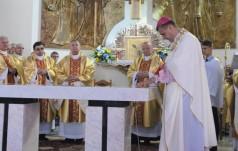 Kościół parafialny w Łękawicy konsekrowany