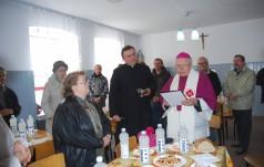 Otwarcie i poświęcenie odnowionej jadłodajni w Częstochowie