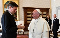 Papież przyjął prezydenta Słowenii