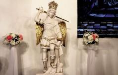 Figura św. Michała Archanioła w Trzebieszewie