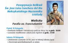 Wieliczka: peregrynacja relikwii bohatera Cristiady