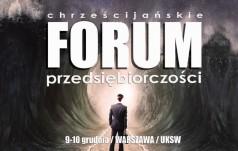 Warszawa: rozpoczęło się Chrześcijańskie Forum Przedsiębiorczości