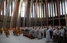 Pielgrzymka kapłanów do Świątyni Opatrzności Bożej