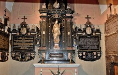 Św. Barbara z kaplicy Krasińskich