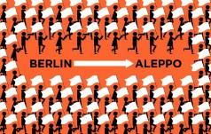 Marsz z Berlina do Aleppo - na rzecz pokoju w Syrii