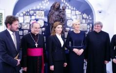 Pierwsze Damy Ukrainy i Polski otworzyły wystawę ikon