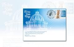 Poczta Polska wydała znaczek z okazji 25-lecia Radia Maryja