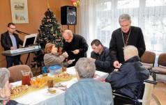 Biskup w przeddzień Świąt