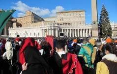 Papież pozdrowił uczestników Orszaku Trzech Króli w Warszawie