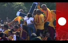 Manila: prawie 2 mln wiernych na procesji Czarnego Nazarejczyka