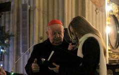 Kraków: studenci podziękowali kard. Dziwiszowi za jego posługę