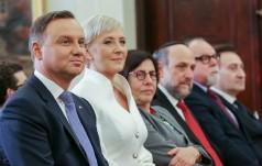 Prezydent spotkał się z przedstawicielami społeczności żydowskiej w Polsce