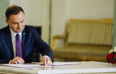 Prezydent Andrzej Duda podpisał ustawę budżetową na rok 2017