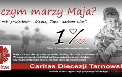 1 proc. podatku dla Caritas Diecezji Tarnowskiej