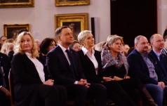 Prezydent na przedstawieniu niepełnosprawnych