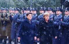 Kanclerz Angela Merkel w Polsce