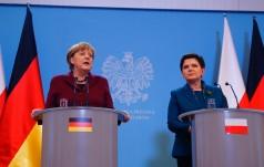 Kanclerz Niemiec w Warszawie