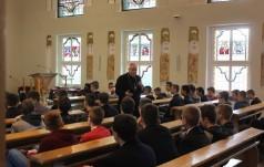 Młodzież szkół średnich gościła w seminarium