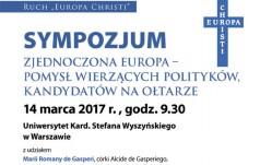 Europa Chrystusa – drugie imię Europy
