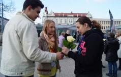 """""""Białe róże dla życia"""" w Częstochowie"""