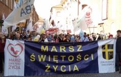 Ok. 10 tysięcy osób na XII Marszu Świętości Życia