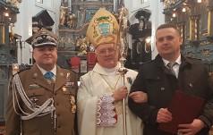 Bp Zawitkowski w I rocznicę konsekracji świątyni