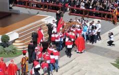 Franciszek przewodniczył uroczystości Niedzieli Palmowej