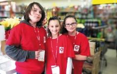 Świąteczna pomoc Szkolnego Koła Caritas