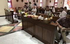 Polacy w New Dehli święcą pokarmy w Nuncjaturze Apostolskiej