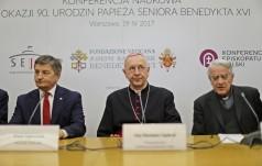 Warszawa: konferencja z okazji 90. urodzin Josepha Ratzingera